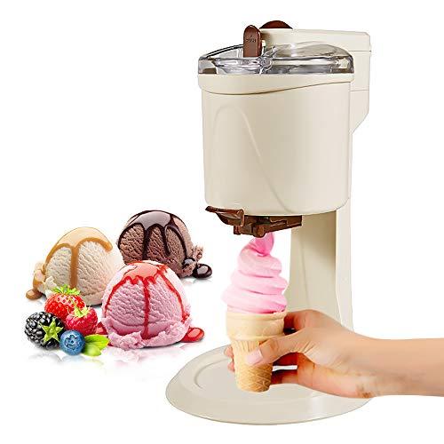 Eismaschine, 1000ml Softeis-Eismaschine DIY-Kücheneis Automatische Mini-Obst-Eismaschine Softeis Einfache...