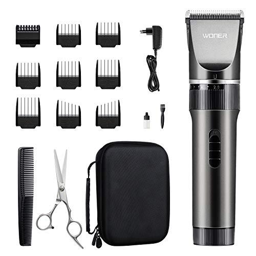 WONER Haarschneidemaschine, Profi Männer Haarschneider Haartrimmer mit 35...