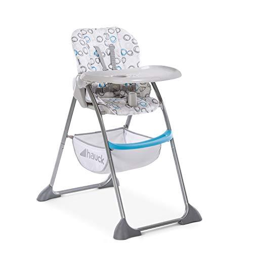Hauck Sit'n Fold–Kinderhochstuhl ab 6 Monate, mit verstellbarer Rückenlehne und großem Korb /...
