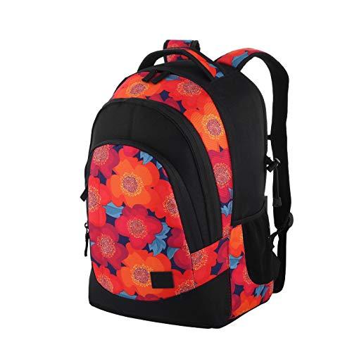 Rada Rucksack RS/2, Freizeitrucksack, DIN A4 kompatibler Schulrucksack für Mädchen und Jungen,...
