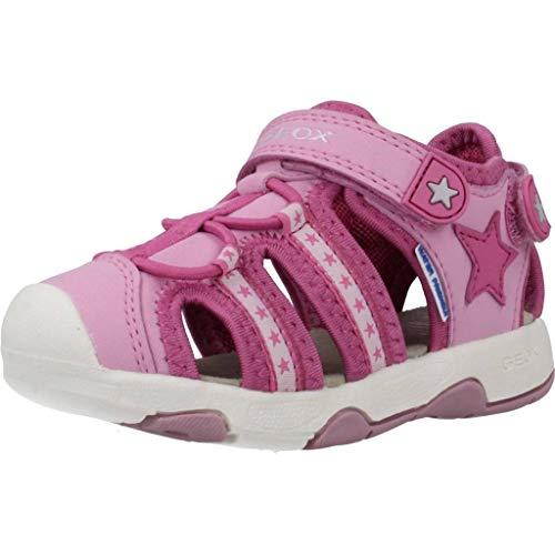 Geox Mädchen B Multy Girl A Sandalen, Pink (Fuchsia/Dk Pink C8n8f), 25 EU