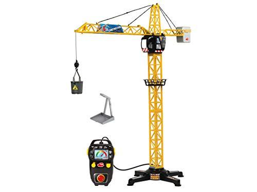 Dickie Toys 201139013 Giant Crane, elektrischer Spielzeug Kran, ferngesteuert, für Kinder ab 3 Jahren, 100 cm...