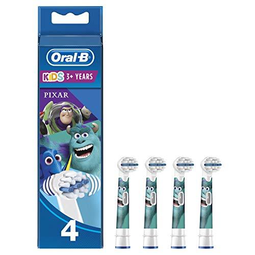 Oral-B Kids Set mit 4 Bürsten mit Disney-Pixar-Figur, 4 Stück