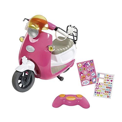 Zapf Creation 824771 BABY born City RC Scooter Puppenzubehör 43 cm, pink/weiß