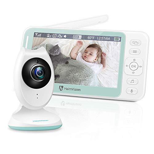 HeimVision Babyphone mit Kamera, 4,3'' LCD...