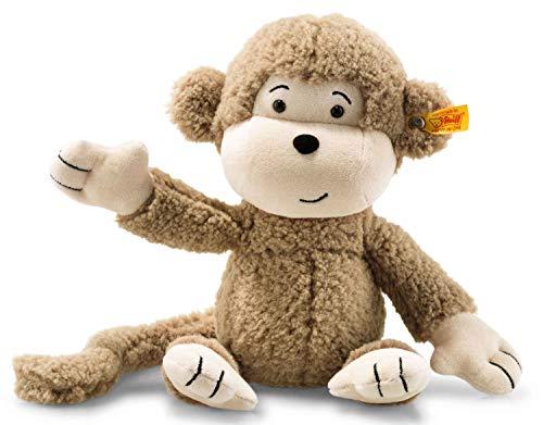 Steiff AFFE Brownie - 30 cm - Plüschaffe mit Langen Armen - Soft Cuddly Friends - Kuscheltier für Kinder -...