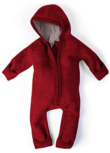 Ehrenkind® WALKOVERALL | Baby Wollwalk-Overalls aus Natur Schurwolle mit Reißverschluss | Walk Wolle...