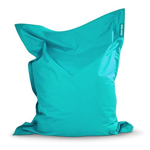 Green Bean © Square XXL Riesensitzsack 140x180 cm - 380L - waschbar, ergonomisch, doppelt vernäht, extrem...