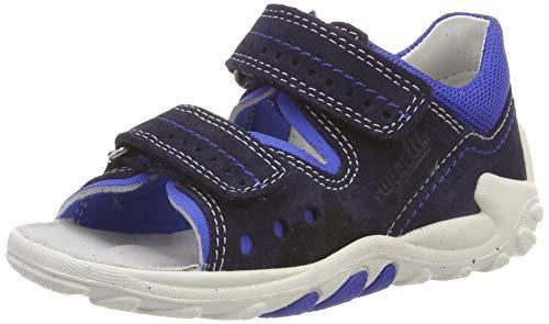 Superfit Baby Jungen Flow Sandalen,Blau (Blau 81),20 EU
