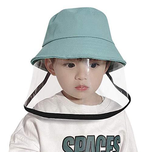 iClosam Baby Sonnenhüte Sommerhut Schutzkappen Schutzvisier Kinder Fischerhüte mit transparente Abdeckung...