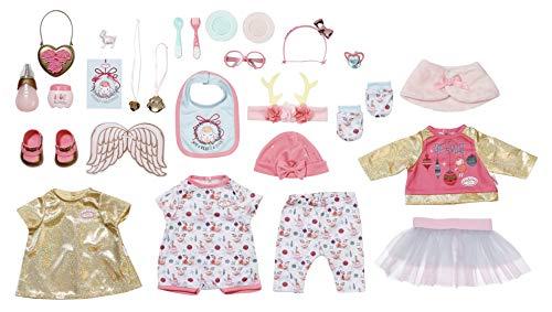 Baby Annabell Zapf Creation 703366 Puppen Adventskalender für Kinder mit Puppenkleidung und -Accessoires, 24...