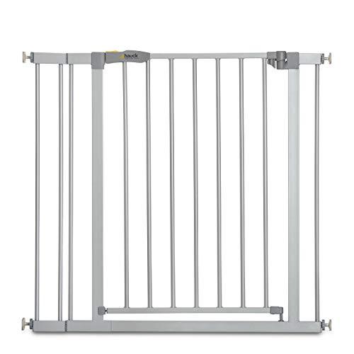 Hauck Türschutzgitter / Treppenschutzgitter für Kinder Stop N Safe 2 Safety Gate inkl. 9 cm Verlängerung /...