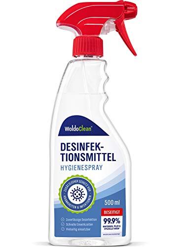 Desinfektionsmittel für Flächen gegen Viren und Bakterien - 500ml Spray