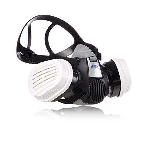 Dräger X-plore 3300 Maler Halbmasken-Set inkl. A2 P3 Kombi-Filter   Größen S/M/L   gegen Gase, Dämpfe,...