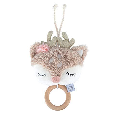 Bieco Musikspieluhr Reh | ca. 30 cm | Baby Spieluhr | Einschlafhilfe Babys | Baby Musik | Spieluhr Baby | Baby...