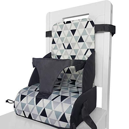 WINBST Boostersitz, Sitzerhöhung Hochstuhl für unterwegs flexibel Abnehmbarer tragbarer Kindersitz für...