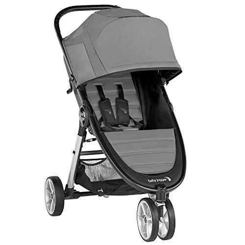 Baby Jogger City Mini 2 3-Rad Kinderwagen   leichter, zusammenklappbar und kompakt   Slate (grau)