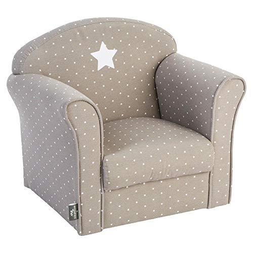 Atmosphera Klassischer Sessel für Kinderzimmer, Taupe