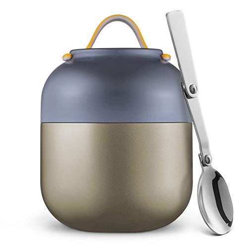 Logeeyar Thermobehälterfür EssenLunchbox500ml/700ml,Speisegefäß Edelstahl Speisebehälter Babybrei...