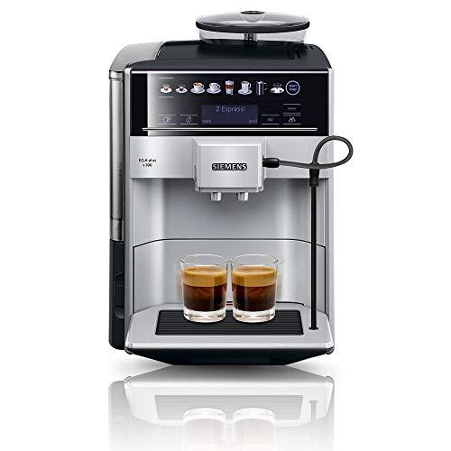 Siemens EQ.6 plus s300 Kaffeevollautomat TE653501DE, Speicherung Profile, Dampf-Reinigung,...