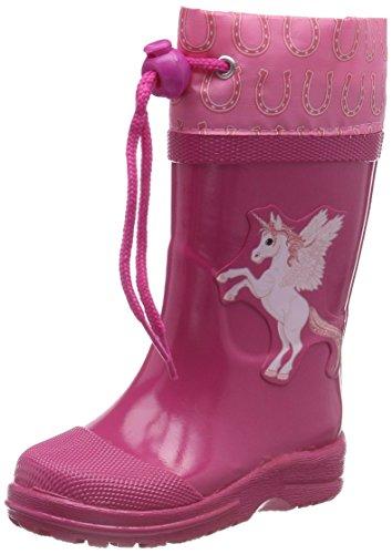 BECK Mädchen Unicorn Gummistiefel, Pink (Pink 06), 31 EU