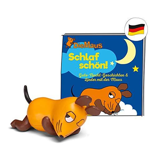 tonies Hörfiguren für Toniebox: Maus Schlaf Schön Figur mit 16 Gute Nacht Geschichten für Kinder - ca. 38...