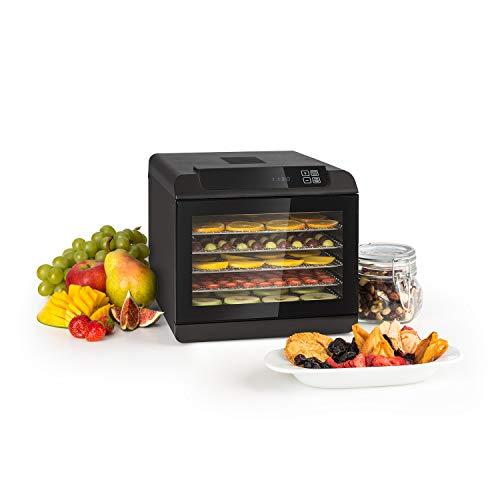 Klarstein Arizona Jerky Dörrautomat - Dörrgerät, Obst-, Fleisch- und Früchte-Trockner, 500 Watt, 35-70°C,...