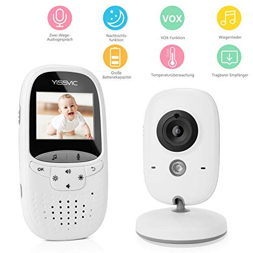 2,0-Zoll-Babyphon mit Video-Funktion