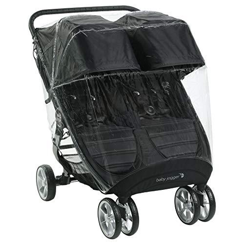 Baby Jogger Zwillingswagen-Wetterschutz und -Regenschutz | für City Mini2 Double und City Mini GT2 Double |...