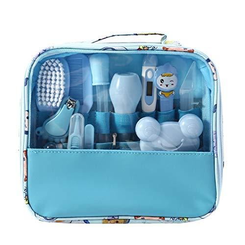 Moonvvin Babypflege Kit 13 teile/satz Neugeborenen Pflegen Set Wesentliche Healthcare Zubehör für Reisen...