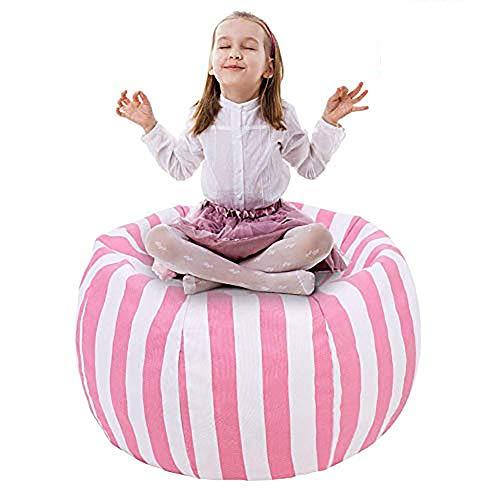 UMYMAYDO1 38' Stofftier Kuscheltiere Aufbewahrung Aufbewahrungstasche Sitzsack Kinder Soft Pouch Stoff Stuhl...