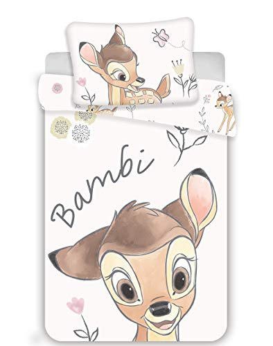 Bambi Baby-Bettwäsche Set 100 x 135 cm + 40 x 60 cm