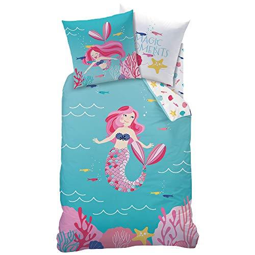 MERMAID MEERJUNGFRAU Mädchen Bettwäsche · Kinderbettwäsche · OCEAN GIRL · magische Momente in der...