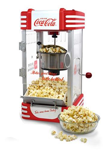 Salco Coca-Cola Popcornmaschine, Popcorn Maker SNP-27CC