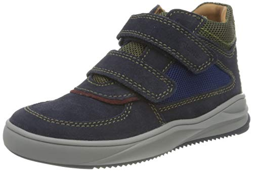 Richter Kinderschuhe Harry 1351-8112 Sneaker, 7202atlantic/burgund/cla, 24 EU