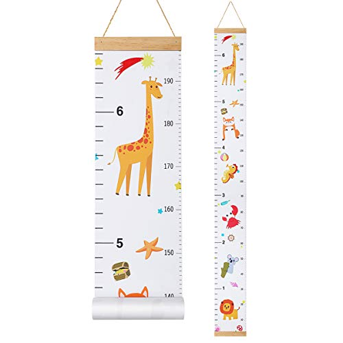 STOBOK Messlatte Kind Dekorative Messlatten Kinder Höhenmessung für Baby Mädchen Kleinkind Kinderzimmer...