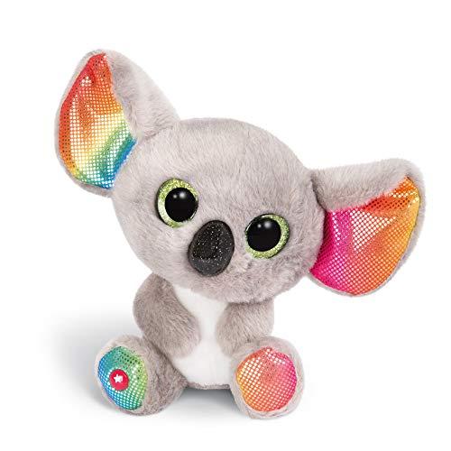 NICI 46319 Glubschis Kuscheltier Koala Miss Crayon 15cm, Flauschiges Plüschtier mit großen Glitzeraugen,...
