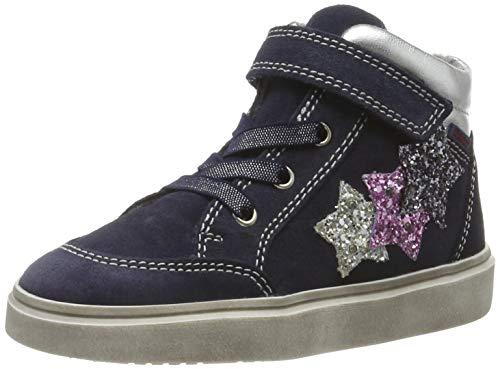 Richter Kinderschuhe Mädchen Ryana Hohe Sneaker, Blau (Atlas/Silver/Can/Ste 7201), 25 EU