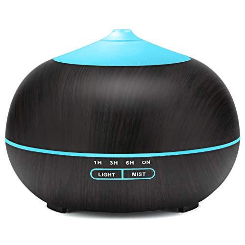 400ml Aroma Diffuser, Tenswall Ultraschall Luftbefeuchter Aromatherapie Ätherische Öle Luftbefeuchter mit 7...