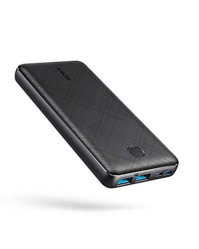 Anker PowerCore Essential 20000 Powerbank, 20000mAh externer Akku mit PowerIQ Technologie und USB-C Eingang,...