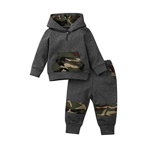 Luckyee Baby Jungen & Mädchen Bekleidungssets Outfits Set, 0-3 Jahre Kleinkind Baby Langarm Dinosaurier...