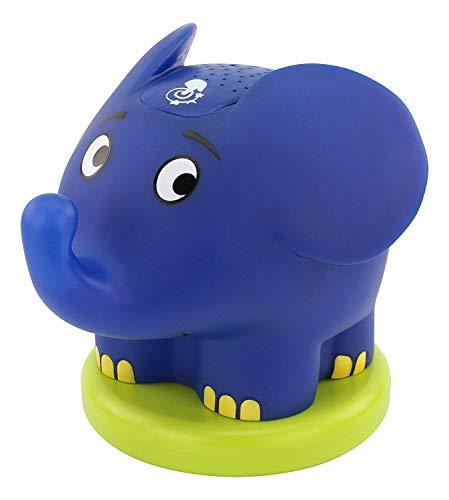 ANSMANN Sternenhimmel Projektor mit Musik Sternenlicht Elefant (Sendung mit der Maus) Einschlafhilfe als LED...