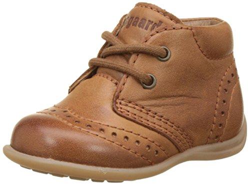 Bisgaard Jungen Unisex Kinder Lauflernschuhe Sneaker, Braun (66 Cognac), 19 EU