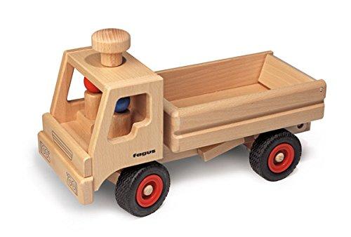 Fagus LKW-Kipper: Ein hochwertiges Holzspielzeug aus Buchenholz