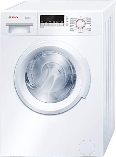 Bosch WAB28222 Serie 2 Waschmaschine Frontlader / A+++ / 153 kWh/Jahr / 1400 UpM / 6 kg / AllergiePlus /...