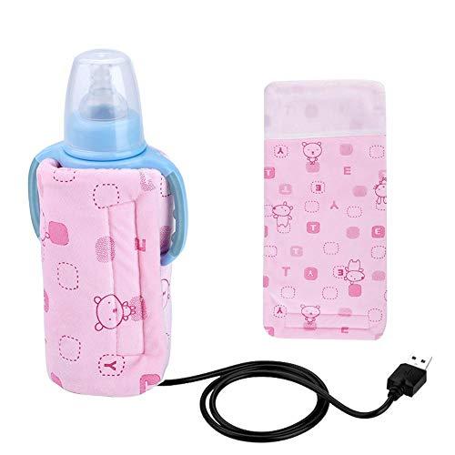 USB-elektronischer Babyflaschenwärmer, Wärmeisolationsbeutel, Flaschenthermostat mit...