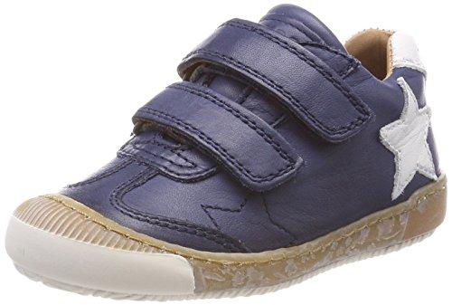 Bisgaard Unisex-Kinder Klettschuhe Sneaker, Blau (Navy), 26 EU