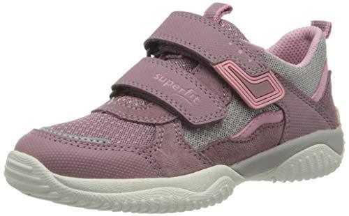 Superfit Mädchen Storm Sneaker, Violett (Lila/Grau 90), 34 EU