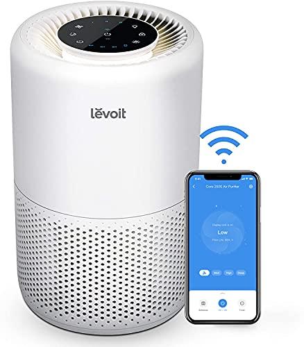 Levoit Luftreiniger Air Purifier mit App Steuerung, H13 HEPA Luftfilter CADR 170m³/h, bis zu 35m²,...