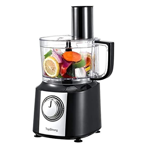 TopStrong Küchenmaschine Multifunktions,800W Multizerkleinerer, MultiTalent Kompakt-Küchenmaschine, 2L...